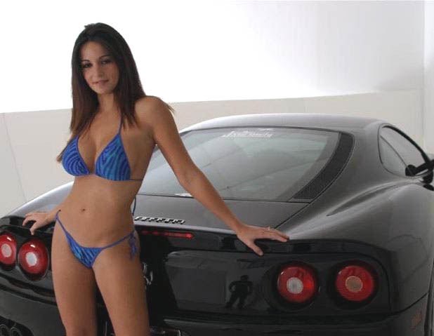 Ford Muscle Cars >> Ferrari Babes - Muscle Car Babes