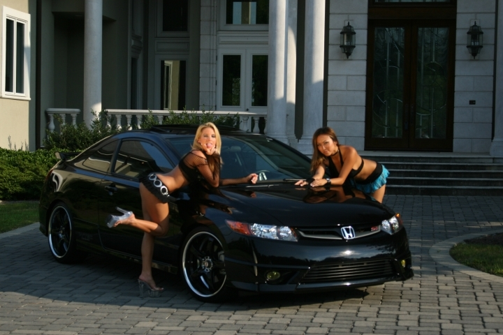 Chevy Muscle Cars >> Honda Hotties - Muscle Car Babes