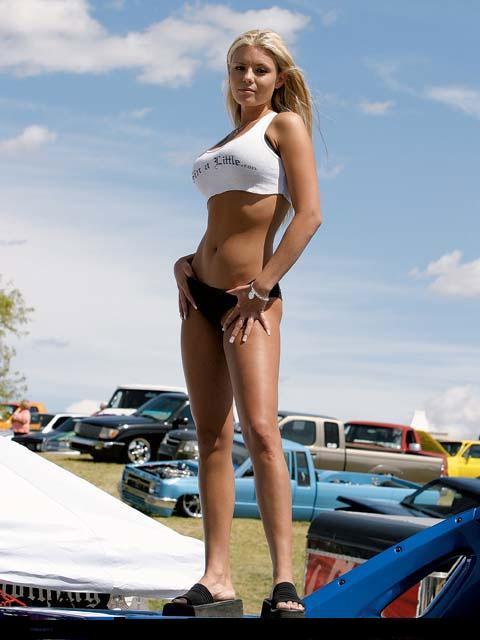 Random Hotties Muscle Car Babes